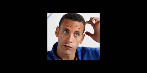 L'Anglais Rio Ferdinand forfait pour le Mondial - La DH