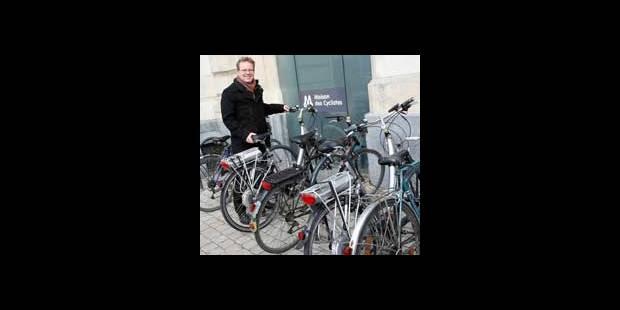 Namur : inauguration du premier point vélo wallon - La DH