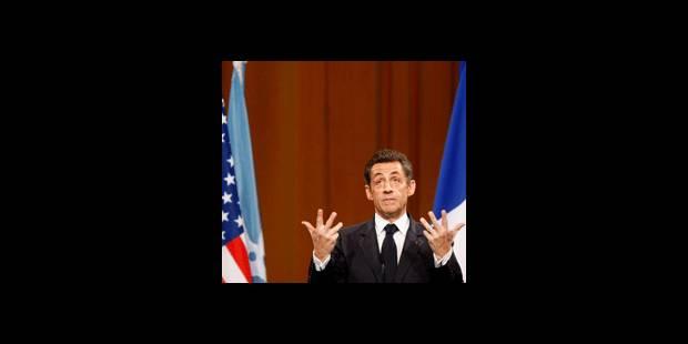 """Sarkozy appelle à une """"réforme de la gouvernance mondiale"""" - La DH"""