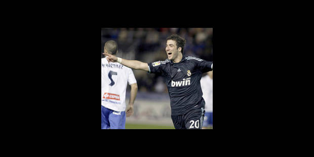 Real Madrid - L'Argentin Gonzalo Higuain à l'attaque - La DH