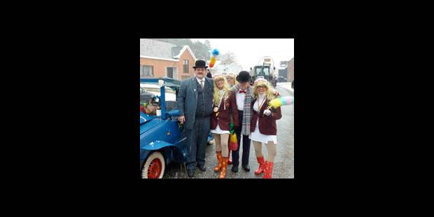 Des flocons blancs s'invitent au carnaval