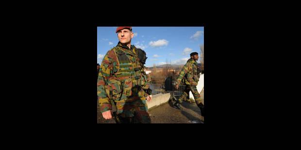 Fin de mission pour les militaires belges au Kosovo - La DH