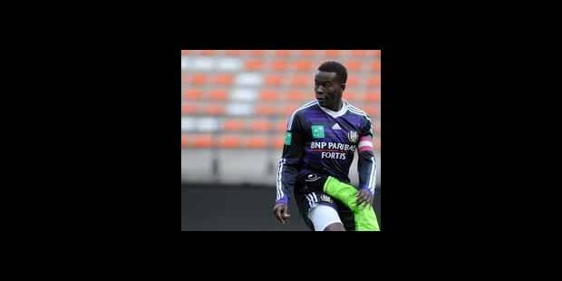 Cédric Ciza quitte Anderlecht pour Charleroi - La DH