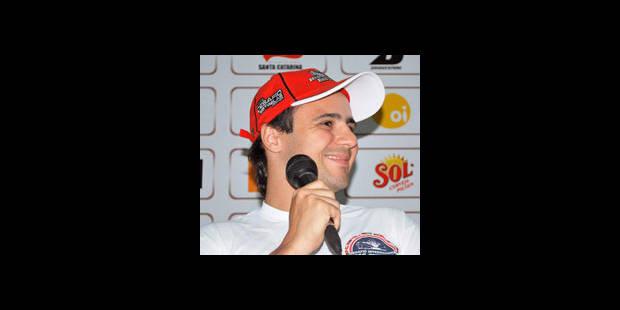 Massa à une course de Kart avec Barrichello et Schumacher