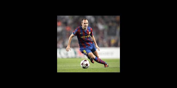 Iniesta prolonge au Barça jusqu'en 2015