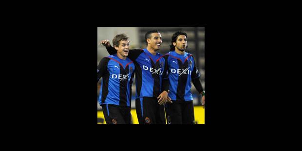 Le Club Bruges gagnant