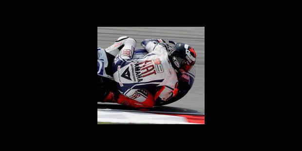 MotoGP - GP de Malaisie - Essais libres - Jorge Lorenzo le plus rapide
