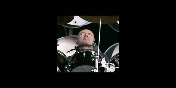 Plus de batterie pour Phil Collins