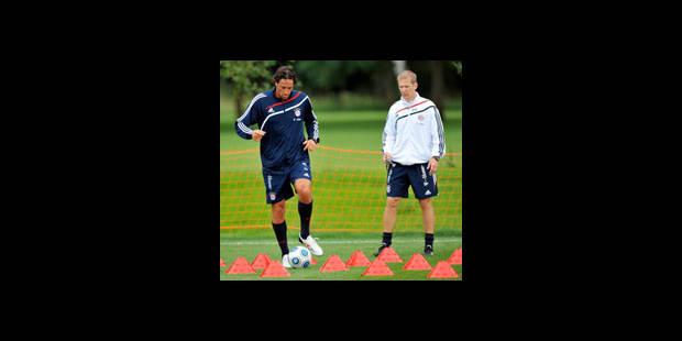 Toni prêt à jouer avec l'équipe réserve du Bayern
