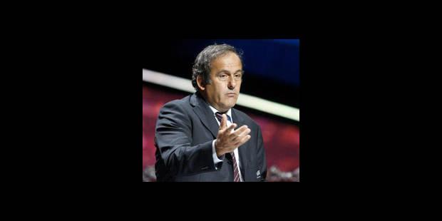 """Euro 2012 - Platini : """"En Ukraine, c'est passé du rouge à l'orange"""""""