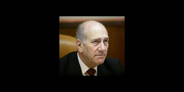Ehud Olmert inculpé pour corruption - La DH