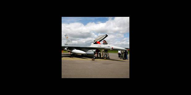 Les F-16 belges en Afghanistan ont tiré deux fois - La DH