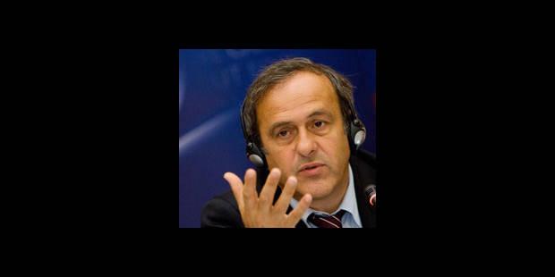 """Euro 2012 Ukraine - Platini  """"Des hauts, des bas..."""" - La DH"""