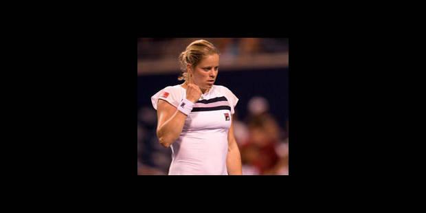 Toronto: Clijsters poursuit sur sa lancée