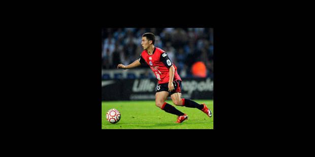 Eden Hazard : premier match européen, premier but - La DH