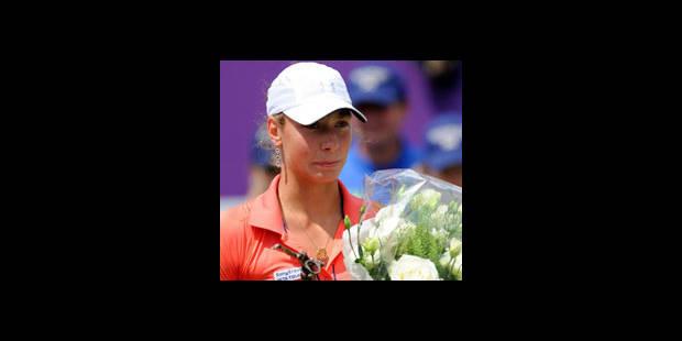 Classement WTA: un bond de 16 places pour Yanina Wickmayer - La DH