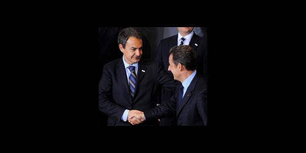 Sarkozy à Madrid pour dissiper le malentendu avec Zapatero - La DH