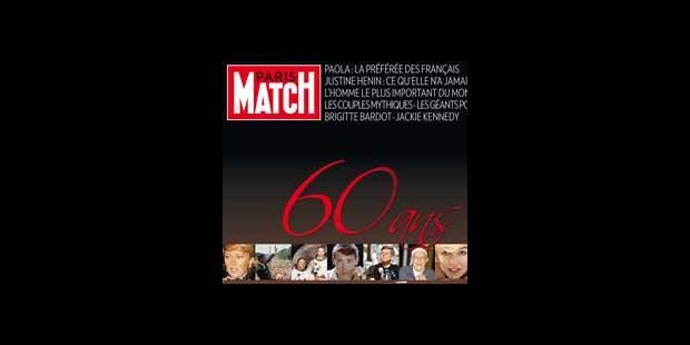 Demain, Paris Match fête ses 60 ans - La DH