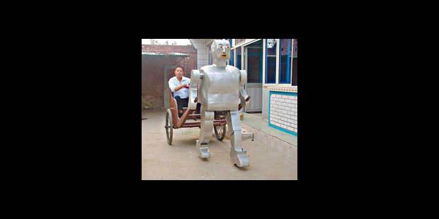 Un fermier chinois à la tête d'une armée de robots