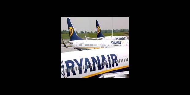 Ryanair ouvre 3 nouvelles routes à Charleroi