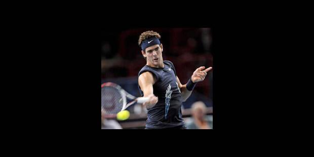 ATP Bercy : Del Potro toujours dans la course aux Masters - La DH