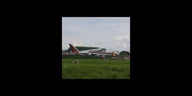 Le Boeing 747 se brise ! - La DH
