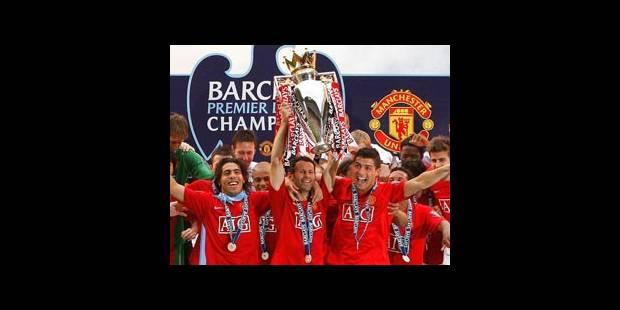 Manchester United sacré champion d'Angleterre
