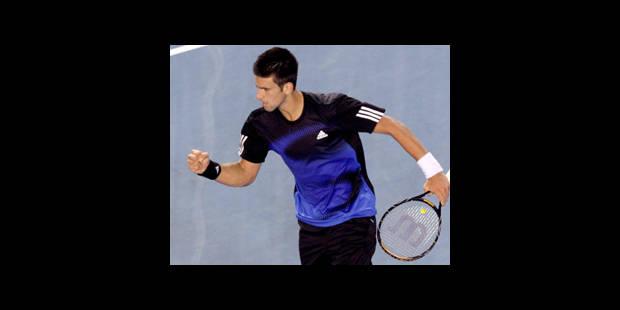 """Djokovic: """"C'est moi qui contrôlais le match"""" - La DH"""
