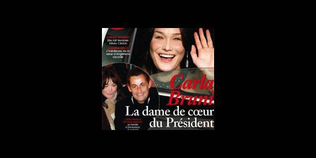 Carla Bruni, nouvelle idylle présidentielle? - La DH