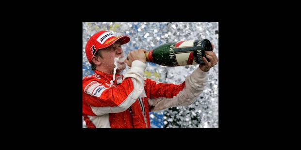 Raikkonen conserve son titre de champion du monde de F1