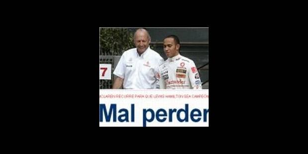 """La presse espagnole s'amuse du """"ridicule"""" de McLaren"""