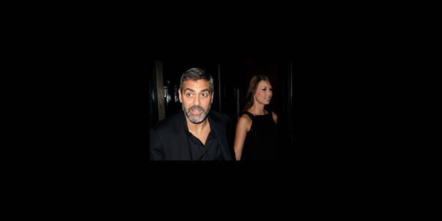 Clooney se casse une côte - La DH
