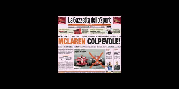 Presse critique en Italie, soulagée en Espagne