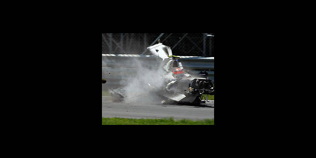 GP Canada: grave accident pour Kubica
