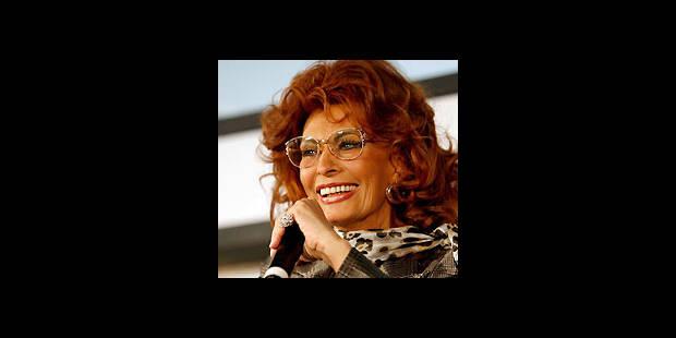 Sophia Loren dans le Pirelli 2007