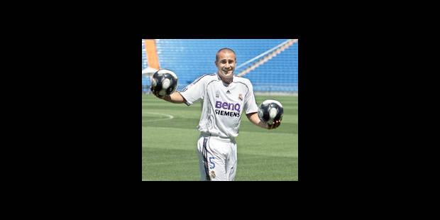 Cannavaro a signé au Real Madrid: