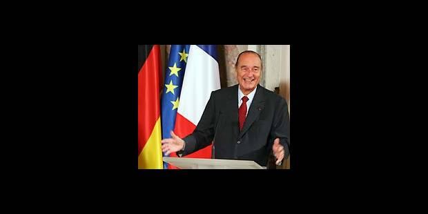 Chirac piégé par des humoristes québécois - La DH