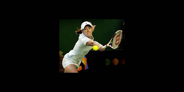 Justine Henin en demi-finale - La DH