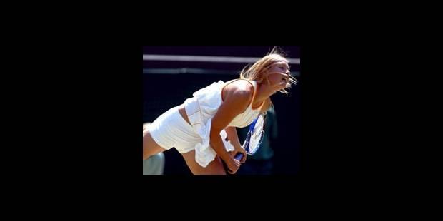 Sharapova, belle de match - La DH
