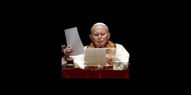 Jean Paul II est resté muet - La DH