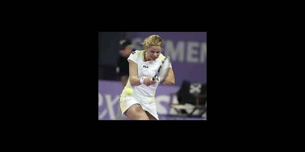 WTA Anvers - Kim Clijsters est en 1/4