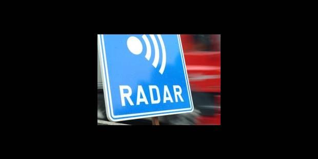 Radars en pointe à Bruxelles - La DH
