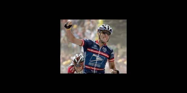 Coup double pour Armstrong - La DH
