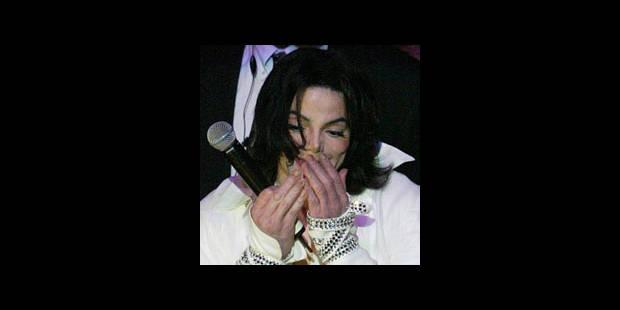 Le CD de Michael cartonne