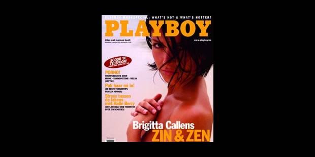 Brigitta Callens dévoile ses charmes dans Playboy - La DH