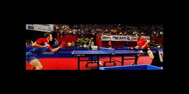 Championnat du monde de ping-pong: Saive est le seul Belge qui passe - La DH