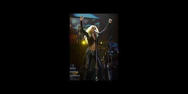 Le show chaud de Shakira - La DH