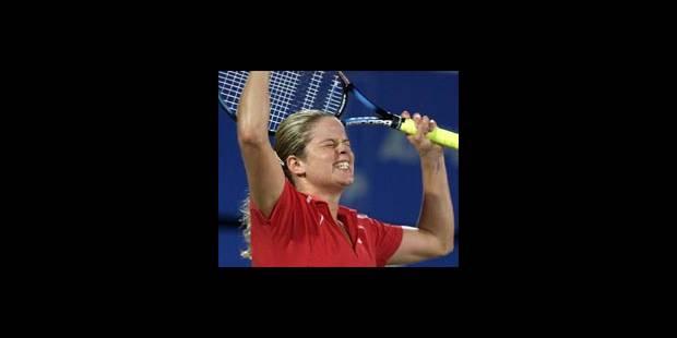 Sydney: Kim Clijsters s'impose en patron