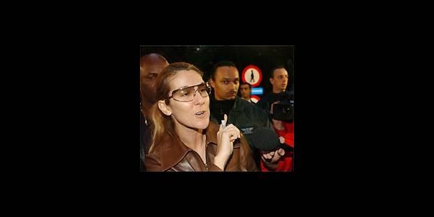 Céline Dion est arrivée à Bousval ce mardi soir