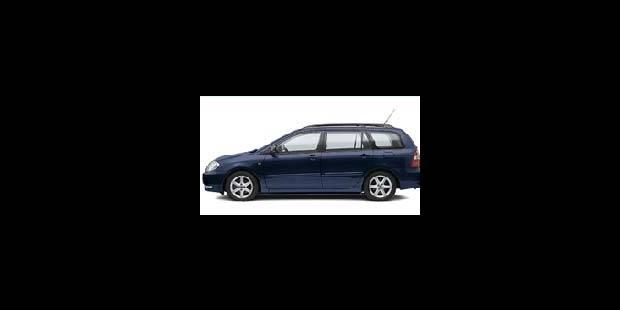 Les cotes de la DH - Toyota Corolla Wagon 2.0 D4D
